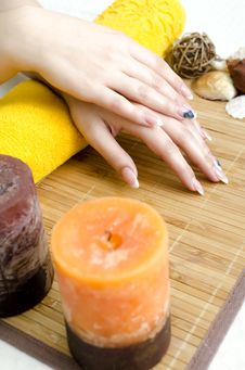 Free Spa Hands Royalty Free Stock Photography - 22606167