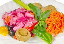 Free Vegetable Salad Stock Photo - 22609490