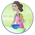 Free Cooking Woman Royalty Free Stock Image - 22616156