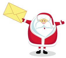 Santa Claus Mail Stock Photography