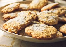 Free Oatmeal Cookies Royalty Free Stock Photo - 22610825