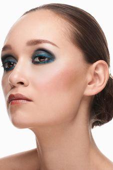 Free Woman With Stylish Make-up Stock Photo - 22614280