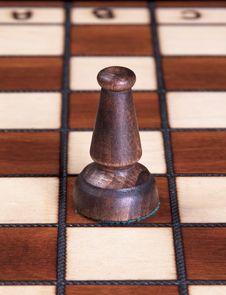 Bishop Chess Piece Stock Photo