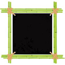 Free Bamboo Frame With Tropic Old Paper Stock Image - 22616591