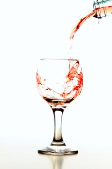 Free Glass Of Wine Royalty Free Stock Photo - 22616795