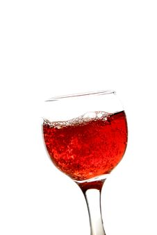 Free Glass Of Wine Royalty Free Stock Photos - 22617308