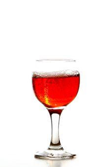 Free Glass Of Wine Stock Photography - 22617892