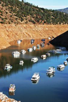 Free Canyon Boat Basin Moorings Stock Photo - 22618730