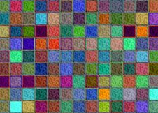 Free Abstract Squares Background Royalty Free Stock Photos - 22619388