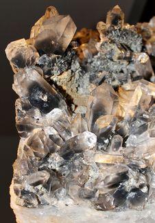 Free Quartz Crystals Stock Image - 22619991