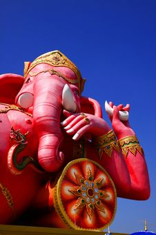 Free The Statue Of Lord Ganesh Royalty Free Stock Photography - 22621307