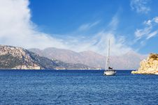 Free Turkish Yacht In The Sea Royalty Free Stock Photo - 22622575