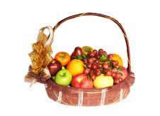 Free Fruits In Basket Stock Photos - 22623003