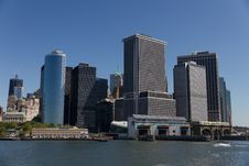 Free Lower Manhattan Skyline Stock Photos - 22623353
