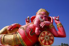 Free The Statue Of Lord Ganesh Royalty Free Stock Photos - 22623398