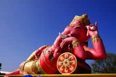 Free The Statue Of Lord Ganesh Stock Images - 22623584
