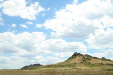 Free Steppe Landscape Royalty Free Stock Photos - 22627438