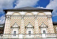Trapeznye House To The Church Of Sergey Radonezh Royalty Free Stock Images