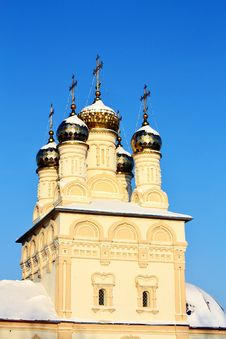 Free Ryazan, View Of The Church Of Our Saviour Royalty Free Stock Photography - 22629337