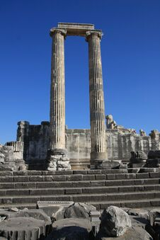 Free The Temple Of Apollo, Turkey. Stock Images - 22629914