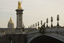 Free Bridge Over Seine Stock Photos - 22630693