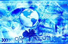 Futuristic Background Royalty Free Stock Image