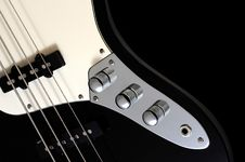 Free Electric Bass Royalty Free Stock Photo - 22638375