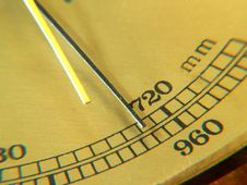 Free Barometer Royalty Free Stock Photo - 22638495