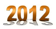 Free 2012 Curled Text Stock Images - 22638834