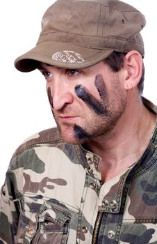 Free Portrait Of Young Soldier Royalty Free Stock Photos - 22641498