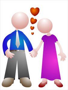 Free Couple Royalty Free Stock Image - 22642616