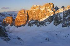 Italian Dolomites Royalty Free Stock Photos