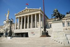 Free Austrian Parliament Stock Photography - 22647662