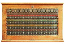 Free Vintage Telephone Switchboard Box Stock Images - 22647714