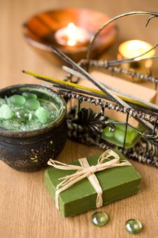 Free Spa Products Royalty Free Stock Photos - 22647808