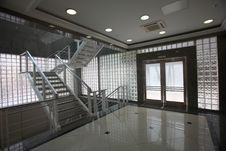 Free Stair And Door In Modern Building Stock Photos - 22648373