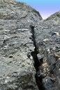 Free Crack In Rock Stock Photos - 22650913