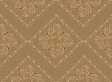 Free Beige Pattern In The Rococo Style Stock Photo - 22650100