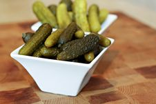 Free Pickles Royalty Free Stock Photo - 22650405