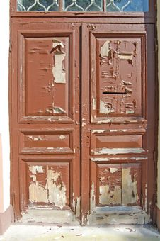 Free Neglected Door Royalty Free Stock Photos - 22651358