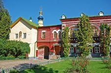 Free Monastery Garden Royalty Free Stock Image - 22651396