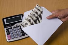 Free Fast Sending Money Stock Image - 22657131
