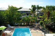 Free Overlooking Swimming Pool Stock Image - 22657211