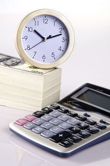 Free Calculating Time And Money Stock Photography - 22657972