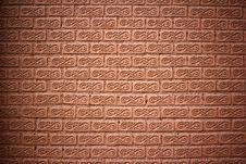 Free The Brick Brown Wall Royalty Free Stock Photo - 22658485