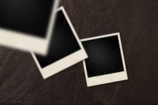 Free Instant Films Leather Royalty Free Stock Photos - 22658628