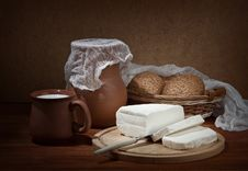 Free Still Life With Brynza. Royalty Free Stock Photo - 22660995