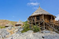 Free Hut On The Hill Royalty Free Stock Image - 22663046