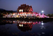Free Thai Royal Pavilion (Ho Kum Luang) Stock Photo - 22668040