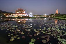 Thai Royal Pavilion (Ho Kum Luang) Royalty Free Stock Image